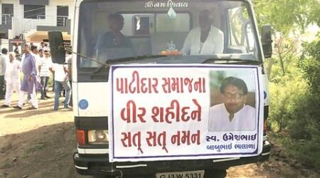 patidar community, patidar agitation, hardik patel, suicide for reservation, reservation support suicide, ahmedabad news, indian express