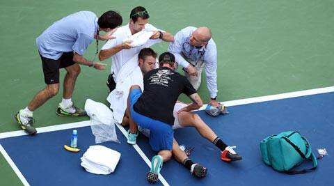 US Open: Heat pushes retirements to Grand Slam record 12