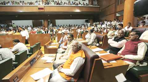 On Day 3, war of words between Cong, BJP MLAs