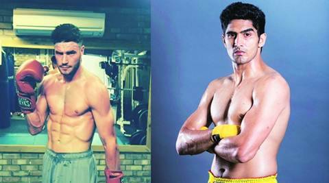 Vijender Singh begins pro career with a bang, knocks out Sonny Whiting in debut bout