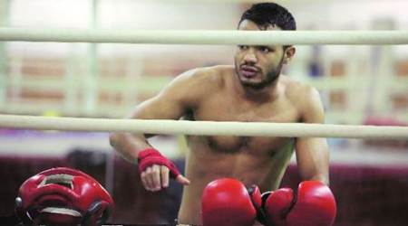 Vikas Krishnan in final of Asian Boxing  Championships, three others finish with bronze