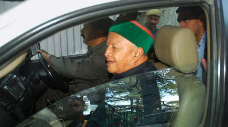 Virbhadra SIngh, Virbhadra SIngh charges, Virbhadra Singh, Graft case, OCD, Indian express news, india news,