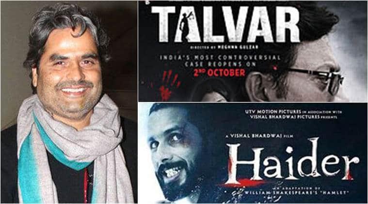 Vishal Bhardwaj, Vishal Bhardwaj news, Vishal Bhardwaj october 2 releases, Vishal Bhardwaj haider, Vishal Bhardwaj talvar, Vishal Bhardwaj movies, Vishal Bhardwaj shahid kapoor, shahid kapoor, haider, talvar, irrfan khan, konkona sen sharma, tabu