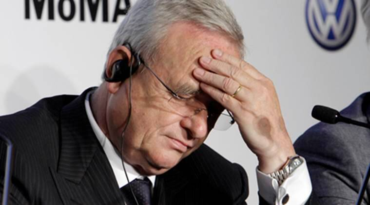 Volkswagen CEO Steps Down Amid Emissions Scandal