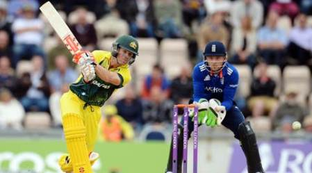 Cricket - England v Australia - First Royal London One Day International - Ageas Bowl - 3/9/15 Australia's David Warner in action Action Images via Reuters / Philip Brown Livepic