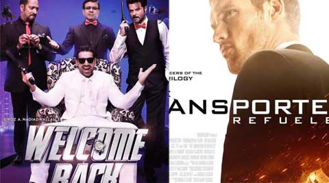 welcome back movie, welcome back release, welcome back movie release, welcome back movie review, welcome back review, welcome back john abraham, welcome back anil kapoor, welcome back nana patekar, welcome back shruti haasan, john abraham, anil kapoor, shruti haasan, nana patekar, tranporters release, transporters india release, weekend releases, friday releases, welcome back friday