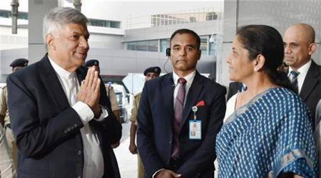 Ranil Wickremesinghe, India Sri Lanka relation, Ministry of Megapolis, Sri lanka Ministry of Megapolis, Champika Ranawaka, Ranil Wickremesinghe india visit, Ranil Wickremesinghe, latest news, india sri lanka, sri lanka, Indian express