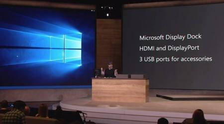 Windows 10 devices event: Lumia 950 and 950XL supports Continuum for mobile