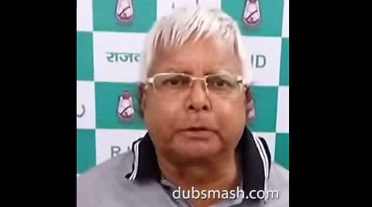 Lalu Prasad, dubsmash, politics, bihar