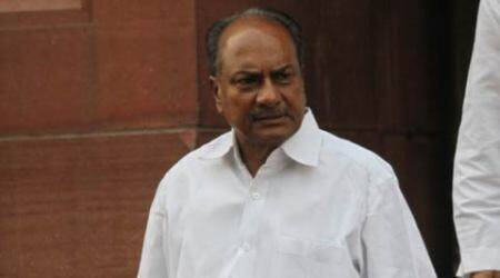 BJP files complaint against A K Antony with EC