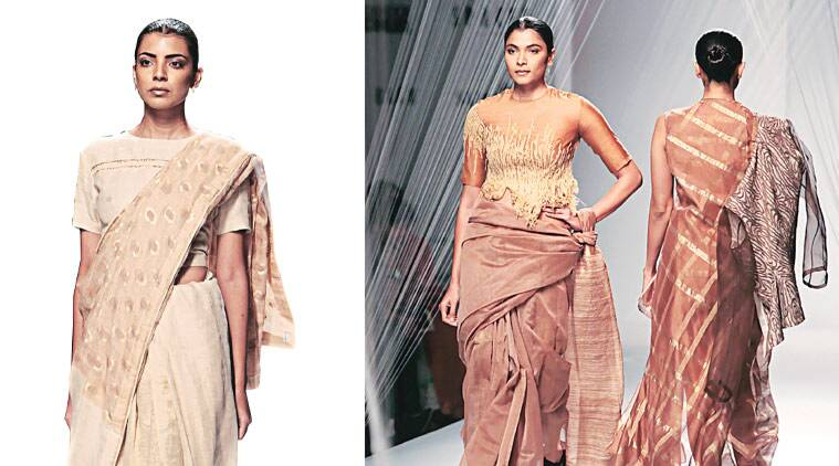 With the interest in textiles, the Fashion Design Council of India, too, is making quite the statement, and it's only fair to say that more than just the venue has changed.