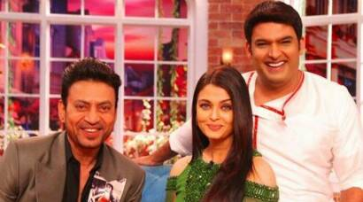 Aishwarya Rai Bachchan, Irrfan have some fun with Kapil on 'Comedy Nights With Kapil'