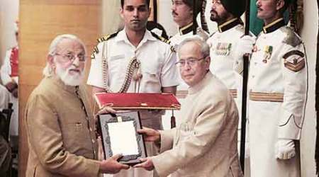 President gives away Sangeet Natak Akademi awards, fellowships