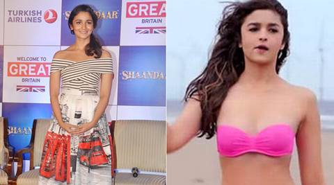 Cycling helped Alia Bhatt for bikini shoot in 'Shaandaar'