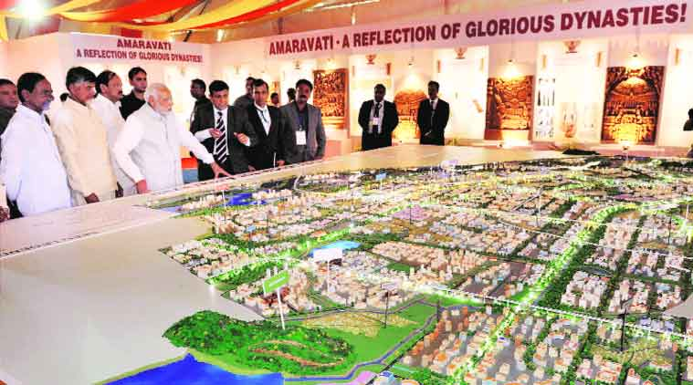 N Chandrababu Naidu, Y S Jagan Mohan Reddy, amaravati, andhra new capital amaravati, amaravati land deal, TDP amaravati land deal, YSR Congress amaravati, candrababu naidu, andhra news, telangana news, india news