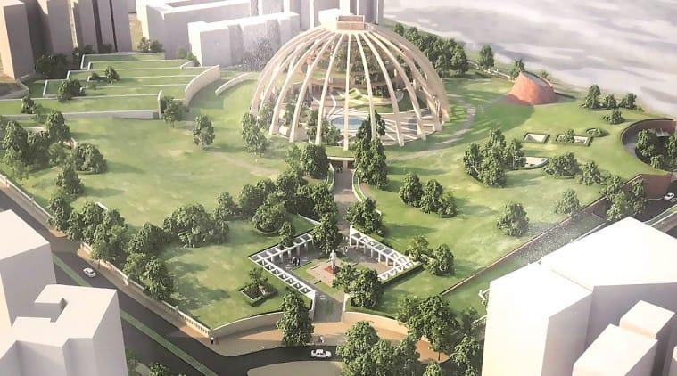 ambedkar memorial, b r ambedkar, narendra modi, Modi, mumbai ambedkar memorial, ambedkar memorial mumbai, b r ambedkar mumbai memorial, ambedkar mumbai memorial, modi in mumbai, narendra modi in mumbai, pm in mumbai, mumbai news