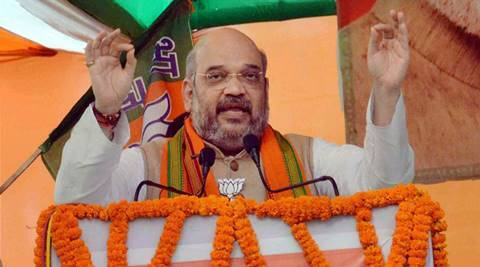 amit shah, fir against amit shah, bihar election, bihar polls, bjp bihar, bihar bjp alliance, nda bihar alliance, bihar news, india news, latest news