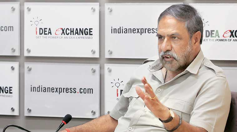 surgical strikes, congress surgical strikes, anand sharma, manohar parrikar remarks, manohar parrikar surgical strikes, narendra modi, modi, indian express, india news