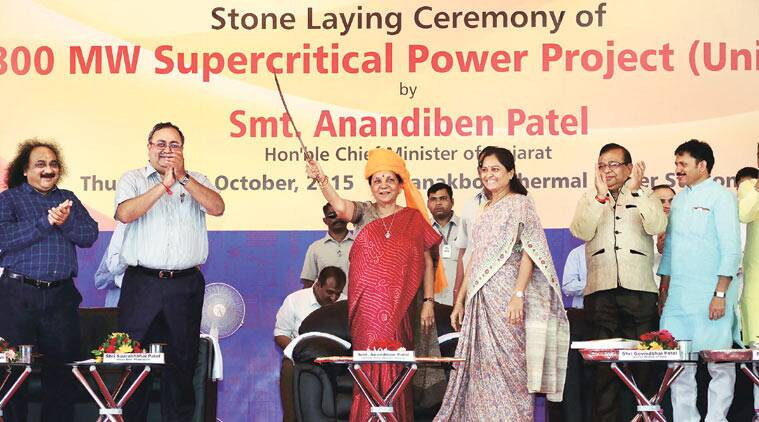 Anandiben Patel, Wanakbori station, power generation, Gujarat State Electricity , Gujarat government, UPA government, Ahmedabad news