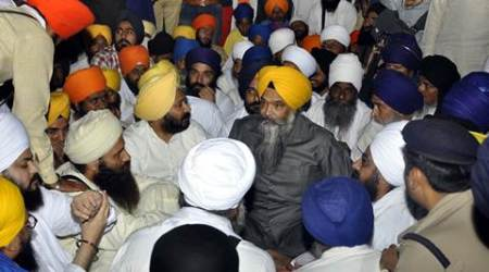 Holy book desecration: Protest by Sikh preachers reaches Chandigarh border