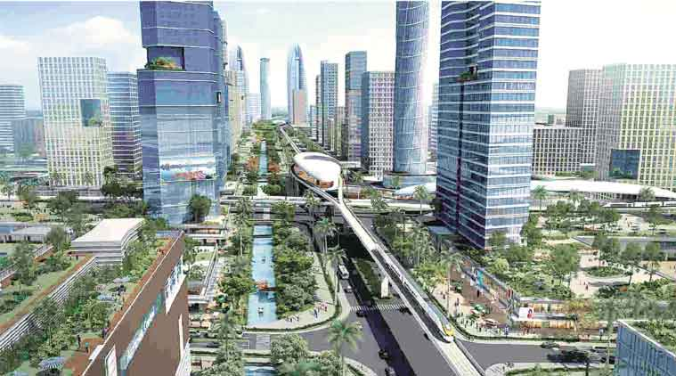India-France Sustainable development project, grant for India-France development project, Asia Investment Facility, India Smart city project, India's smart city sustainable development, India news, National news, latest news, India news