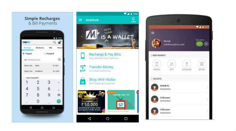 Image result for mobile financial services paytm mobikwik
