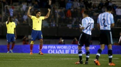 Brazil, Argentina lose their 2018 World Cup qualifiers