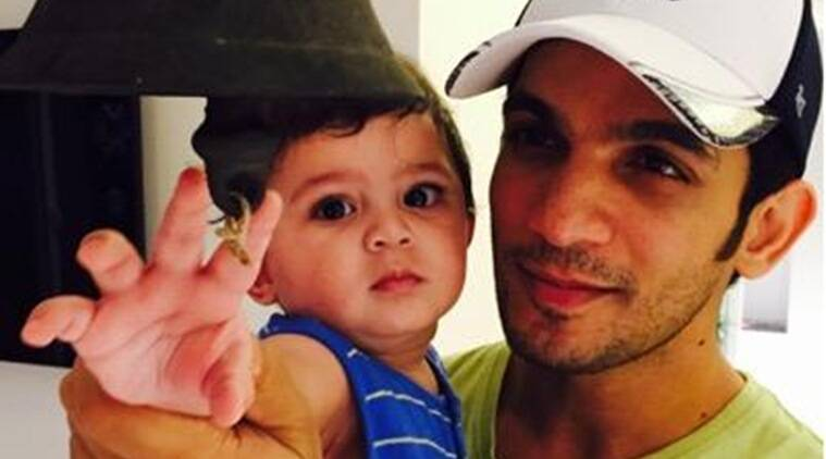 Arjun Bijlani,latest,pics,images,photos,pictures,tv,actor,Arjun Bijlani son,Ayaan,