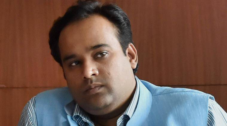 Delhi Food and Civil Supplies Minister Asim Ahmed Khan, who was sacked by the Chief Minister Arvind Kejriwal in New Delhi on Friday over corruption charges. - asim-ahmed-khan-aap759