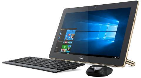 Acer announces new all-in-one Windows 10 PC with built-in battery