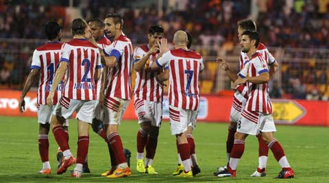 10-man Atletico de Kolkata hold FC Goa to 1-1 draw