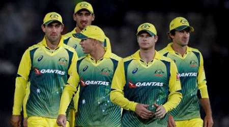 London : Australia's captain Steve Smith, second right, leads his team off the pitch after defeating England in the first one day international cricket match between England and Australia at the Ageas Bowl in Southampton, England, Thursday, Sept. 3, 2015. AP/PTI(AP9_4_2015_000013B)