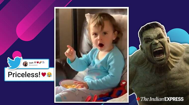 Mark Ruffalo notices viral video of toddler reacting to The Hulk