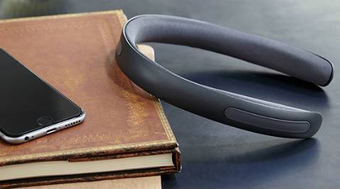 Kickstarter: Batband is a bone-conduction headphone that delivers sound into your skull