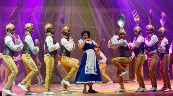 Rehearsal of 'Beauty and the Beast' musical. (Sherwin Crasto/SOLARIS IMAGES)