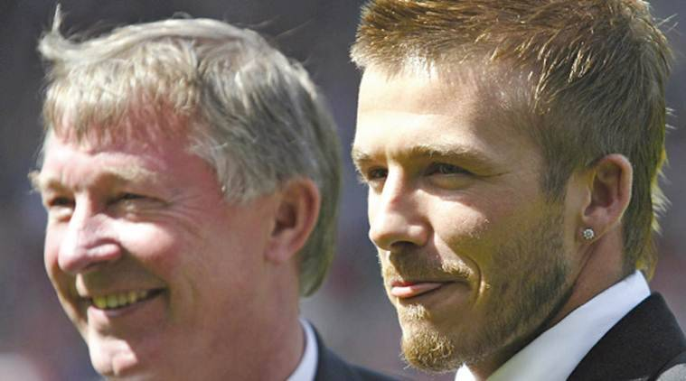 Alex Ferguson To Coach David Beckhamled Team In Charity Match - Beckham hairstyle ferguson