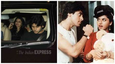 Salman Khan is not launching my son yet, says Maine Pyar Kiya co-star Bhagyashree