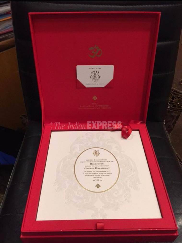 The big fat Punjabi Harbhajan Singh and Geeta Basra wedding a look