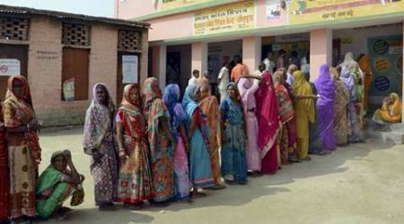 Bihar polls: 55% vote, high turnout of women, youth