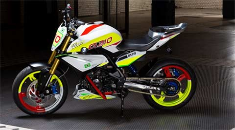 With Concept Stunt G 310, BMW gives a preview of the upcoming 300cc K3