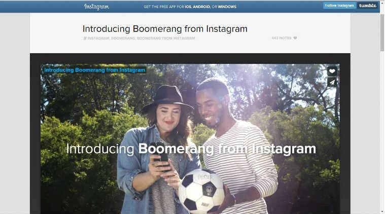Instagram, Boomerang, Boomerang app, Facebook, turn photos to videos, apps to create videos from photos, animated images, technology, technology news