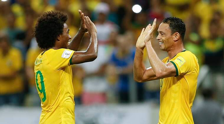 Willian Brazil, Brazil Willians, Willian Brazil Football, Football Brazil, Brazil Football news, World Cup qualifiers, World Cup 2018 qualifiers, Football News, Football
