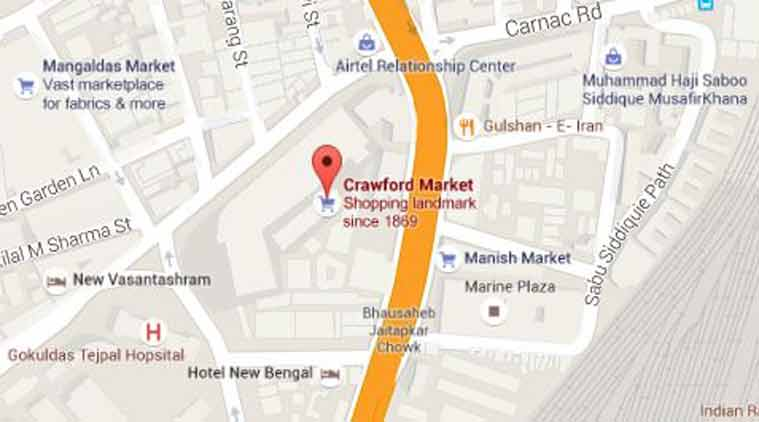 60 shops gutted in Crawford Market fire  The Indian Express