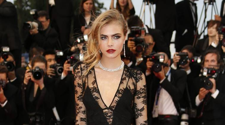 I Had A Pretty Sad Childhood Cara Delevingne Entertainment News The Indian Express