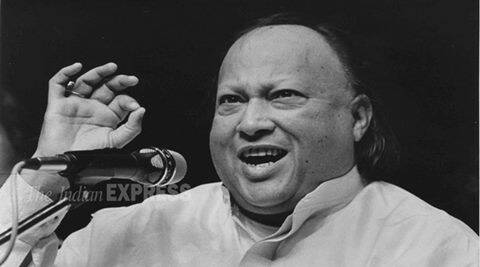 Nusrat Fateh Ali Khan, Sufi Singer. Express photo by Raaj Dayal *** Local Caption *** Nusrat Fateh Ali Khan, Sufi Singer. Express photo by Raaj Dayal