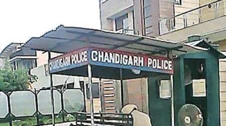 Chandigarh inspector, Chandigarh inspector suspended, recruitment scam, chandigarh recruitment scam, indian express