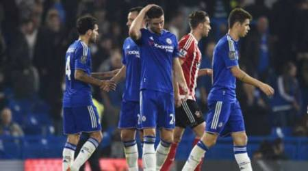 Chelsea's title defence off track after 4th loss