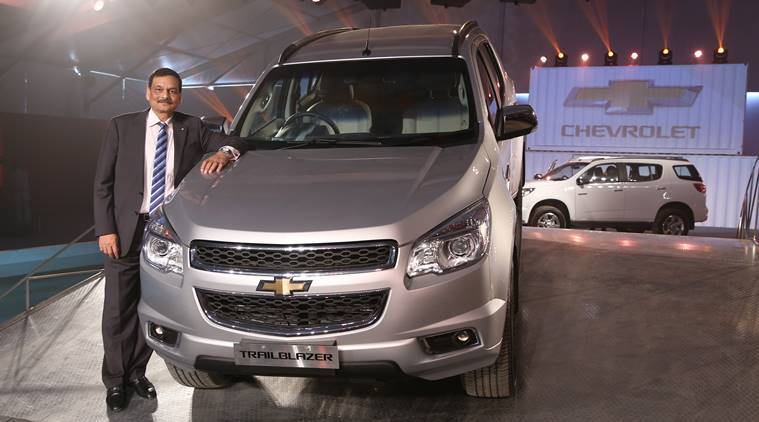 new car launched by chevrolet in indiaChevrolet Trailblazer priced at Rs 264 lakh  The Indian Express