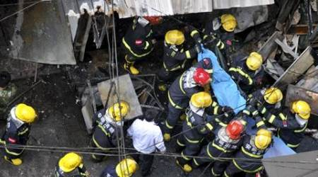 17 killed in eastern China restaurant as gas container explodes