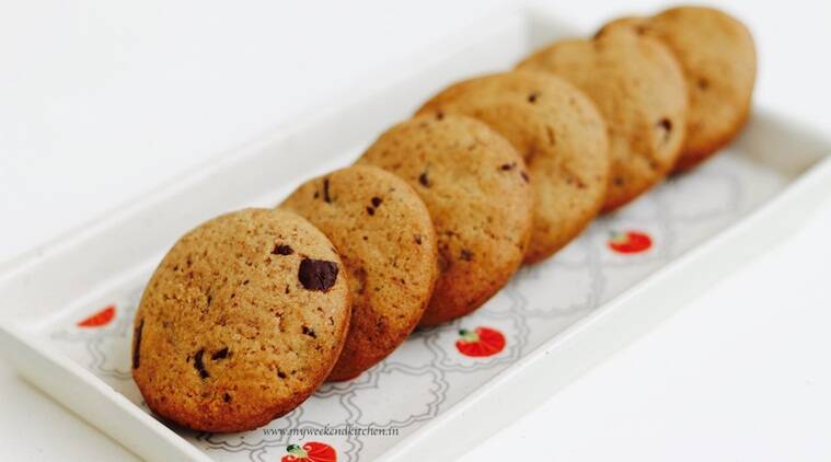 Whole wheat chocolate chip cookies (Source: Ashima Goyal Siraj)